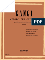 Mario Gangi - Metodo Per Chitarra - Terza Parte (Guitar Method, Third Part, 22 Studies)