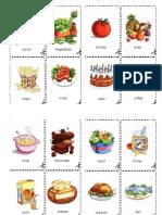 Food Flashcards for ESL