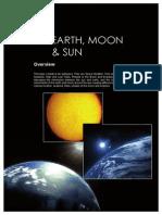 5.0 Earth, Moon & Sun