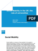 Social Mobility in the UK FINAL