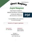 Hospital Management BCA