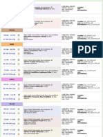 Jadwal Semester 5