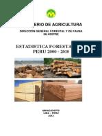 Estadistica Forestal 2000 2010