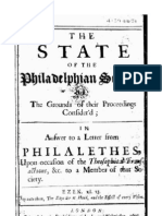Francis Lee - The State of the Philadelphian Society
