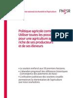 Politique agricole commune (PAC)