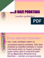 BPCAS6 Web Baza Analiza Podataka