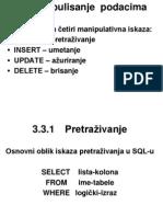SQL2 Gordana Pavlovic 2009