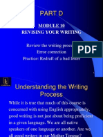Module 10 Revising Your Writing