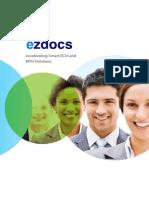 Ezdocs Document Management System  Product Brochure