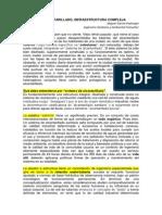 ALCANTARILLADO Estructura Compleja