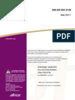 DIN en ISO 4136 (Anglais - Mai 2011)