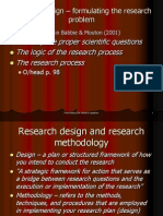 Research Design - Formulating the Research Problem