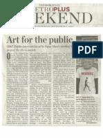 Public Art Intervention in Kerala _Sajan Mani