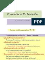 Creacionismo Vs. Evolución