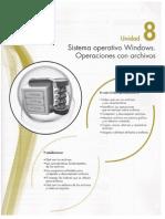 8 Sistema Operativo Windows. Operaciones Con Archivos