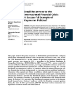 Brazil Responses to the International Financial Crisis