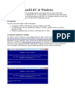 Multiboot OpenELEC Windows