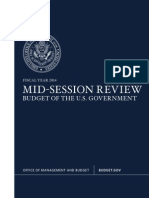 FY 2014 MID-SESSION REVIEW BUDGET OF THE U.S. GOVERNMENT