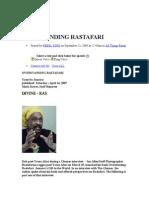 Overstanding Rastafari