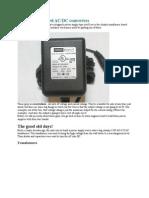 Transformer Based AC.dc Converter