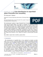 instability on superfluid poiseuille flow