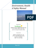 Environment Health and Safetymanual- Sunborne.ver3