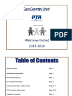 welcome packet 2013-2014