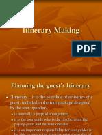 Itinerary Making