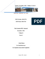 Iranian Efl Journal Volume 8 Issue 6