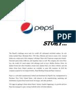 Pepsi story marketing strategies applies