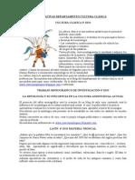 OPTATIVAS DEPARTAMENTO CULTURA CLÁSICA