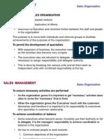 SDM Sales Organisation