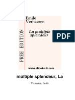 Emile Verhaeren - La Multiple Splendeur