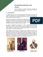 CONFLICTO TERRITORIAL ENTRE PERÚ Y CHILE