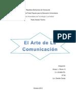 El Arte de La Comunicacion