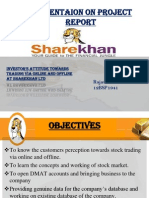final presentationon sharekhan