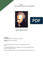 Kant Idée Histoire