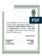 Certificado Comb Incendio