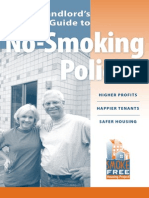 A Landlords Guide No Smoking Policies