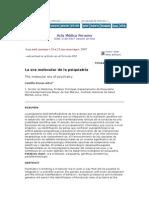 Acta Médica Peruana MOLECULAR