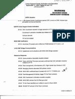 T7 B20 Timelines 9-11 2 of 2 Fdr- DENTK Crisis Support Center Activation and Operation- Timeline 242
