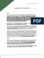 T7 B21 MFR-IV Notes Fdr- 4-8-04 Raidt Memo Re Calls From Planes Re FBI Concordance 267