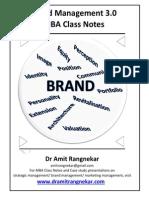 Brand Management Notes 3.0