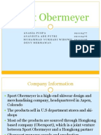 sport obermeyer an analysis Read this essay on sports obermeyer case study analysis on 'sport obermeyer' sport obermeyer is a us based manufacturer of fashion ski apparel industry.