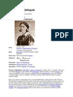 Florence Nightingale English