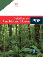 Un-redd Fpic Guidelines
