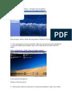 Usando imagens de fundo nas pastas do XP.doc