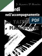 Armonia - Accordi Pianoforte Metodo