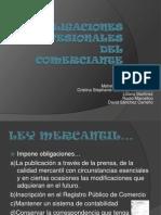 Obligaciones Profesionales Del Comerciante