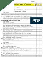 3-Autoevaluation Des Competences en Anglais a 1 A2-2